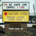 Sign out front of Snyder's