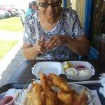 Sharing Fish and Chips
