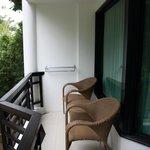 outside balcony