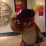 Puss in Boots at the Cotai Shoppes