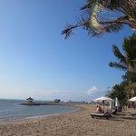 Caribbean style beach