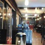 Restaurant inside hotel