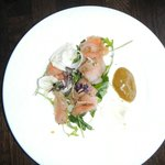 Fennel cured salmon