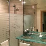 Convenient and clean bathroom