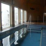 Wonderful heated soaking pool with ocean view