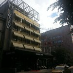 Hotel Scandic Park, facciata principale