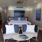 New premier beach club room.