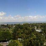 Vista della laguna di Cancún