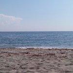 Spiaggia e.mare fronte.Hotel Costa Verde