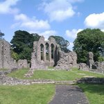 The main abbey ruins