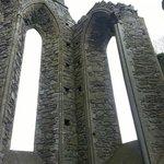 The Gothic windows at the Choir