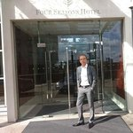 James Bond at Four Seasons Hotel London at Canary Wharf