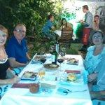 """Cena en """"Los Jardines de Zoraya """" Granada"""