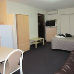 2 Connecting rooms - Double bed in living area, 2nd bedroom with 3 singles and adjoining Bathroo