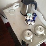 Dirty coffee table