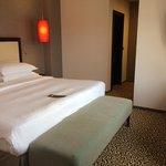 premium suite bedroom with king bed