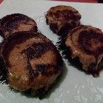 Erizos de mar gratinados - Restaurant LA CUINA D'EN PEDRO (Lloret de Mar)
