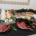 Grand buffet fruits de mer