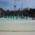 piscine a vague..cool
