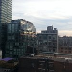 View from my window at the Hilton Garden Inn Toronto Downtown