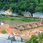 Alt Brucke from Schloss Heidelberg