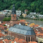 Heidelberg from Schloss