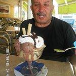 C'est la coupe de glace traditionnelle au canari