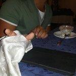 La cura dei dettagli a tavola
