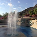 Gioco d'acqua della piscina