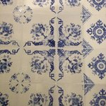 Example of some of the beautiful tiles in the hotel.