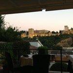 vista sull'Alhambra