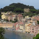 Nice view from room of Silent Bay in Sestri Levante