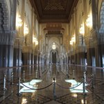 mezquita por dentro