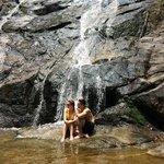Stunning waterfall in Khoa Lak