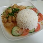 Orange Yogi rice