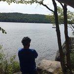 overlooking Lac Mercier!!