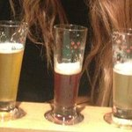 Beer tasting at the pub!