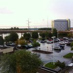 vista da janela do quarto - rio mississipi