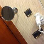 Espejo de aumento y secador