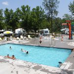 Pool Area and Splash Pad. Open Memorial Day Weekend to mid September.