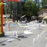 Pool Area and Splash Pad