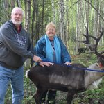 Andy and MaryAnne McFarland at Running Reindeer Farm