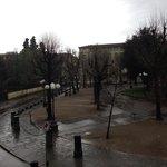 Вид из окна)
