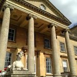 Outside of Croome Court