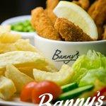 Banny's Restaurant, Colne - Plaice Goujons