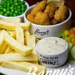 Banny's Restaurant, Colne - Wholetail Scampi