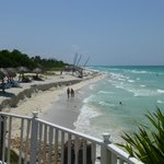 View of Varadero beach from Breezes Bella Costa hotel