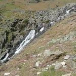 Waterfall on walk