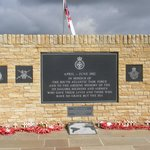 memorial to servicemen who have died in the performance of their duty since ww2