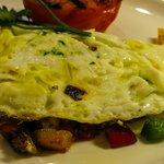 In-Room breakfast, our egg white omelette